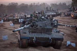 IDF Soldiers Remain On The Gaza Border After Cease Fire